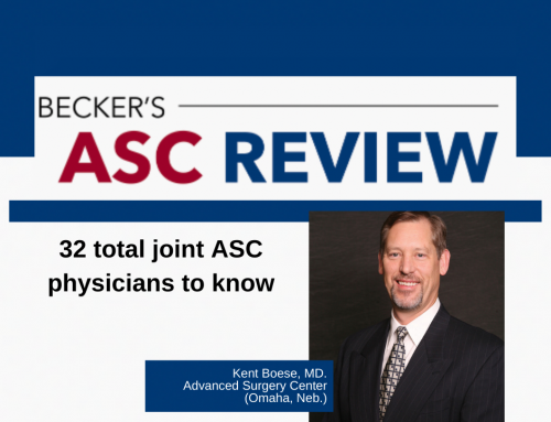 Dr. Boese Featured In Becker's ASC Review